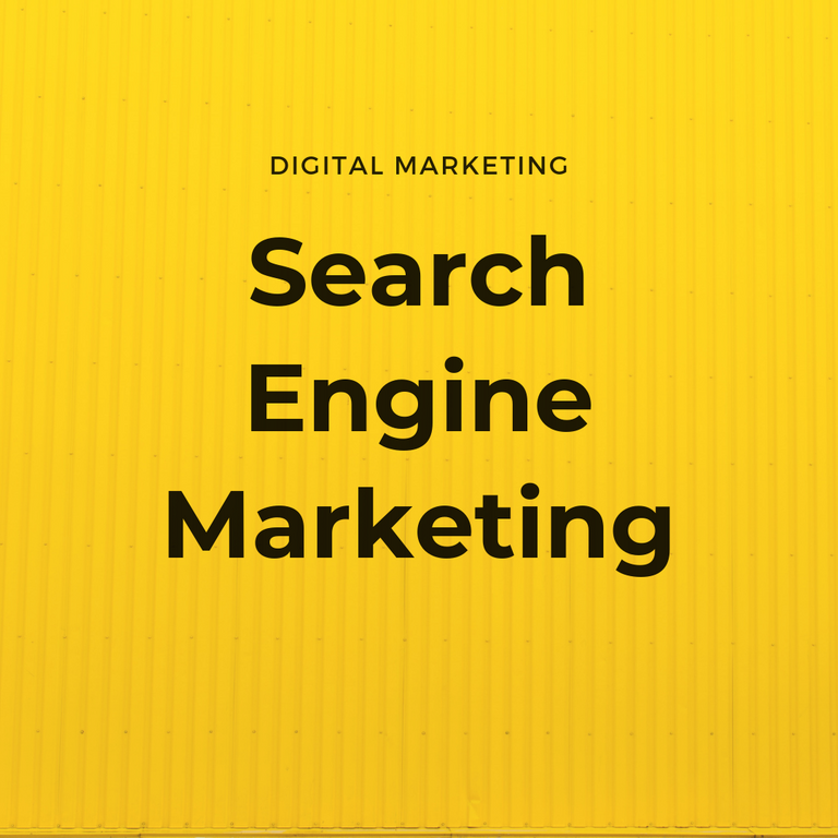 search engine marketing, paid serach