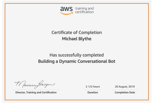 Building-a-Dynamic-Conversational-Bot-Michael-Blythe